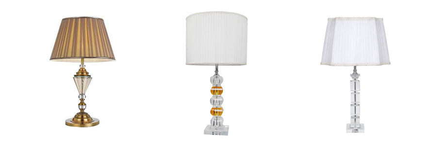 Crystal table lamp Australia