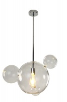 PLANET - Clear Glass Feature Pendant