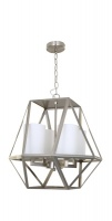 IPSWICH - Vintage Look 4 Light Pendant Satin Nickel
