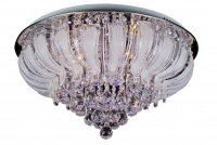 STELLA - LED - Real Crystal - Flush Chandelier