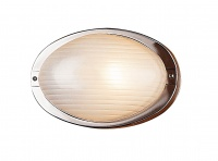 OVALE - Stainless Steel - Bunker - Wall Light