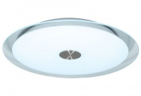 DAMIANO - Round - 2 Light - Glass Oyster