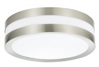 ROUND - Stainless Steel - Oyster Light