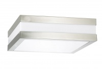 SQUARE - Stainless Steel - Oyster Light
