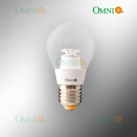 Clear Fancy Round 4watt LED Globe - Omni