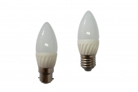 LED 4Watt Candle Frosted Globes