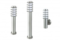 LORA - Stainless Steel - Outdoor Bollard & Wall Lights