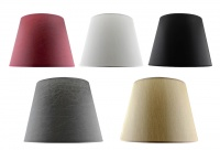 Tapered Table Lamp Shades - Misc Colours & Two Sizes