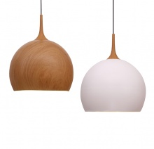 LOMAX - Modern Wood Look Pendants