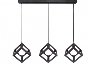 RUBIX - 3 Light Pendant