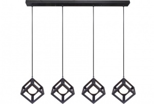 RUBIX - 4 Light Pendant