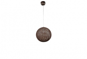 HEMP - Wicker Rattan Wound Ball Pendants