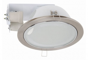 Vetro Downlight - 2 Light - 23.5cm - Satin Chrome