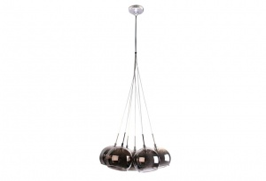 METEOR - 7 Light - Cluster - Grey / Chrome